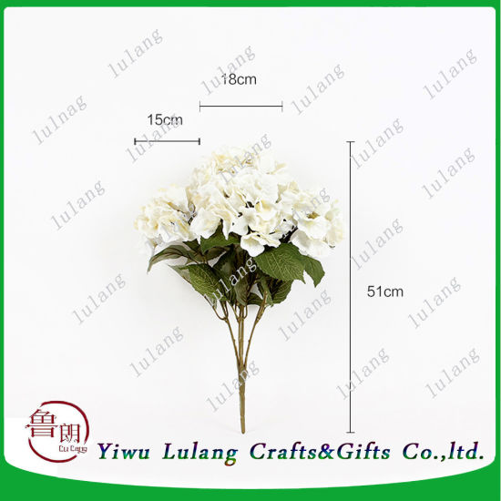 China hot sales new design artificial white hydrangea big silk hot sales new design artificial white hydrangea big silk artificial flower heads for weeding decoration mightylinksfo