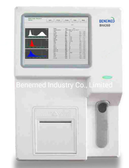 Lab Equipment Full Automatic Blood Cell Counter Hematology Analyzer