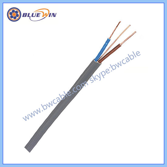 China Heating Wire Twin Conductor Solid Copper Wire Cable 3X2.5 ...