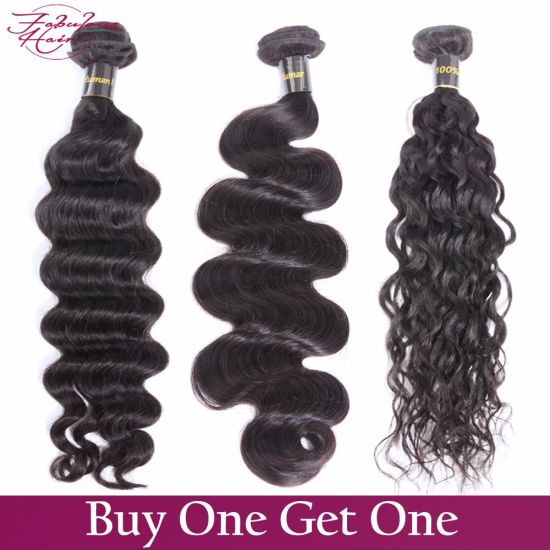 Hair Gurantee 100% Virgin Human Hair Brazilian Body Wave Hair pictures & photos