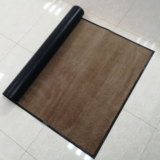 Door Mat With Nitrial Rubber Backing