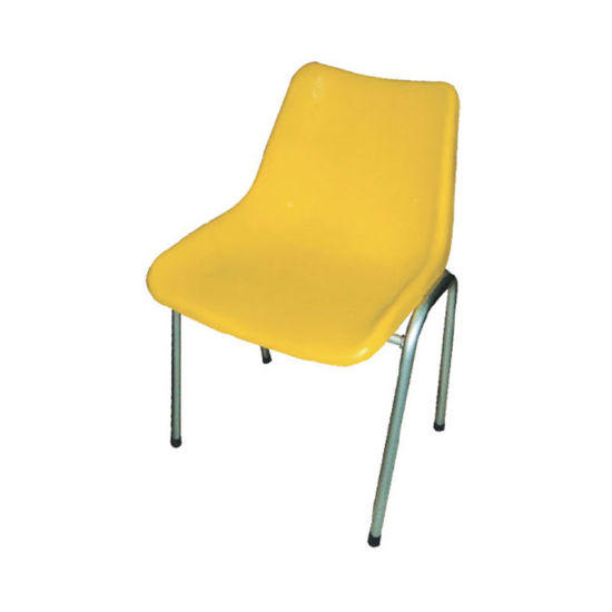 Wholesale Children Furniture Kids Plastic Chairs With Metal Legs