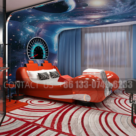 Latest Design Hotel Sex Electric Bed for Lovers