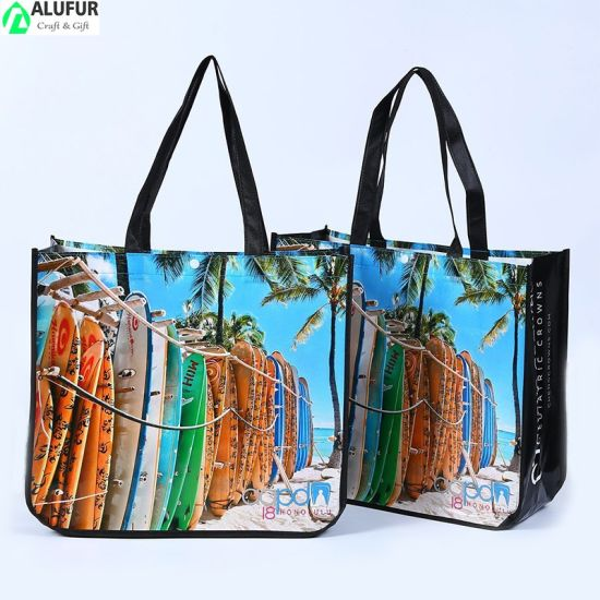 Laminated Non-Woven Packaging Bags with Printed Pattern