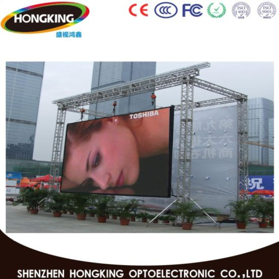 P6 Rental Outdoor Full Color LED Display for Stage pictures & photos