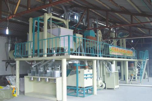 Small Scale Corn Flour Mill Maize Flour Milling Machine, Mini Wheat Flour Mill