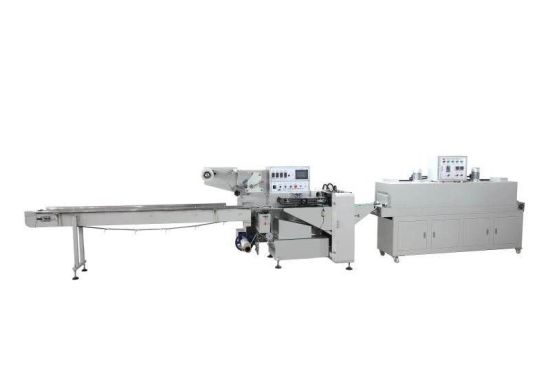 Automatic Heat Thermal Sealing Sealer Shrink Shrinkable Shrinking Film Pack Packer Package Packing Wrap Wrapper Wrapping Machine