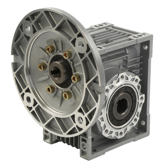 Right Angle Worm Gearbox Reduction Geared Redcuer