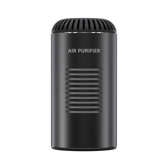 Portable Wind Capacity 8.65cfm Clean Air Pm2.5 HEPA Filter UVC Sterilization Negative Ion Air Purifier