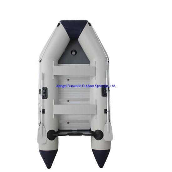 11.8FT 3.6m Inflatable Boat PVC Boat Fishing Boat Rubber Boat Motor Boat Aluminum Boat