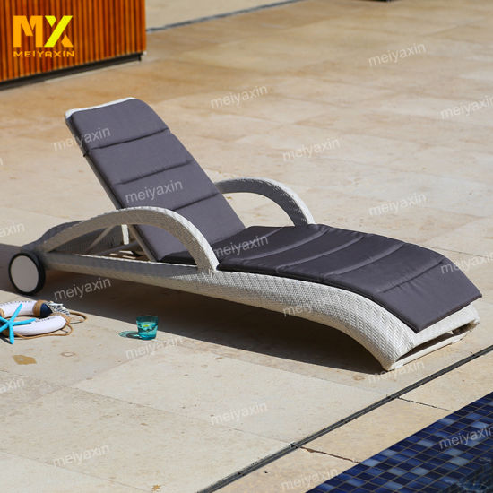 Luxury Comfortable Lounger with Waterproof Cushion