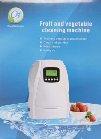 500mg/H Home Air Ozone Generator for Fruit and Vegetable Sterilizer