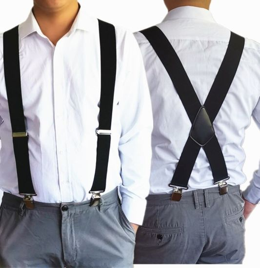 Fashion Elastic Men's Suspenders, Available in Multiple Prints and Sizes -  China Suspenders and Men's Suspenders price | Made-in-China.com