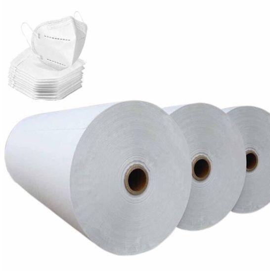 China Factory Supply PP Melt-Blown Spunbond Melt Blown Fabric Meltblown Nonwoven Fabric Cloth