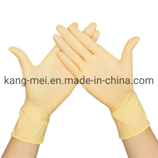 High Quality Protective Disposable Blue Isolation Nitrile Gloves