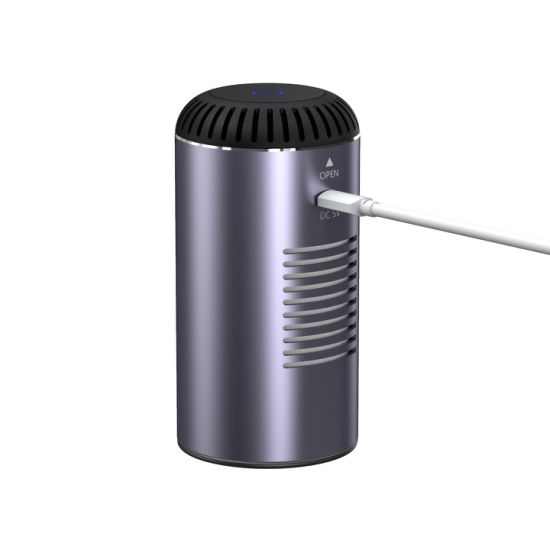 Smart HEPA Filter UV Sterilization Desktop Portable Home Ionizer Air Purifier
