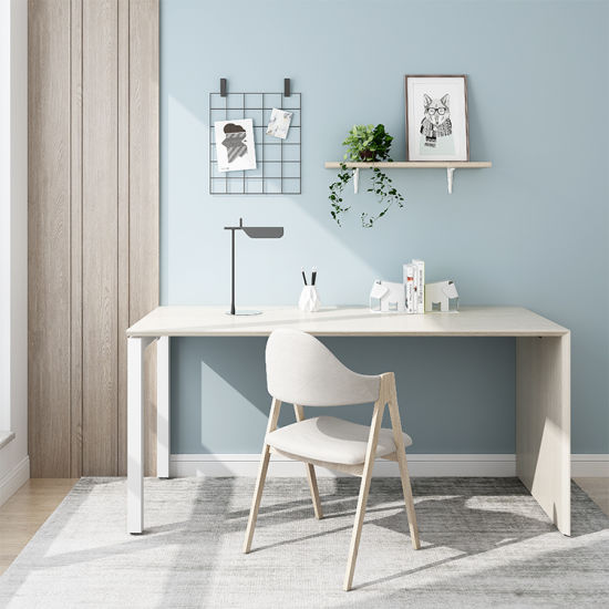 China Modern Simple Computer Desk Modern Decent Steady New Design Home Furniture Office Table China Wooden Furniture Low Price Office Furniture