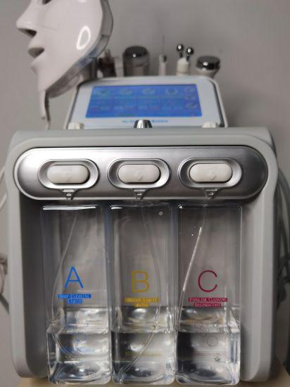 7 in 1 Aqua Design Dermabrasion Oxygen Jet Skin Water Skin Cleaning Spots Removal Beauty Machine LED Mask