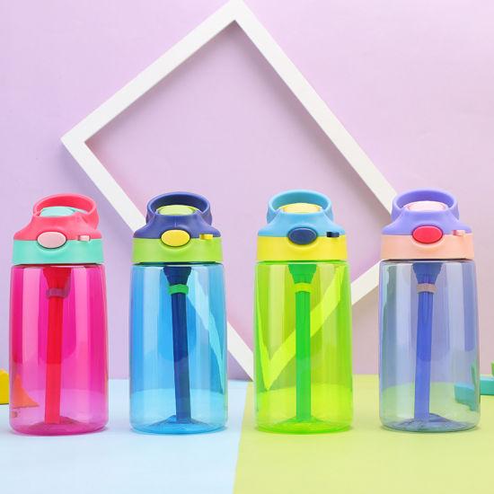 2019 Custom Logo Printing 500ml Plastic Water Bottle