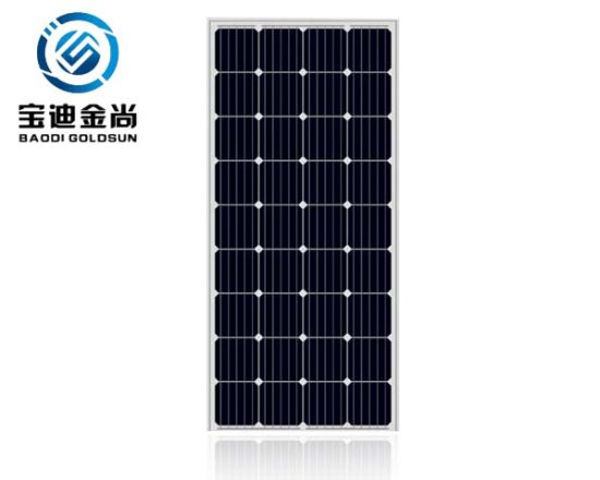 Hot Selling Solaria SAA 5bb 18V 125W Mono Inmetro Solar for Home Energy Solar System with Cheap Price in India