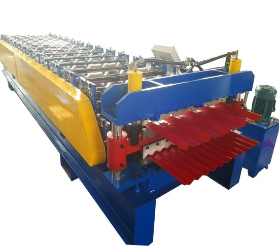 Double Layer Roof Plate Tile Making Machine