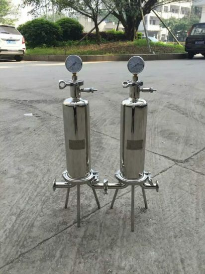 High Quality Stainless Steel Single Core Filter Housing pictures & photos