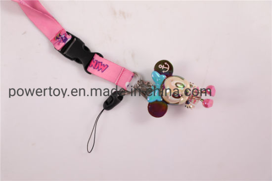 Silk Screen Printing Card Lanyard/Mobile Phone Lanyard/Key Lanyard/Luggage Belt/Bottle Lanyard