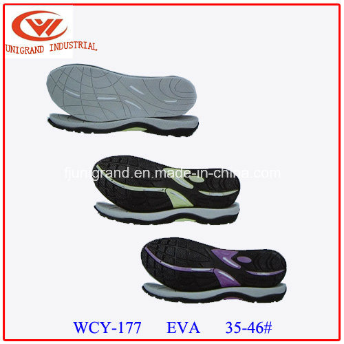 MD EVA Rubber Men Sandals Sole for Making Shoes