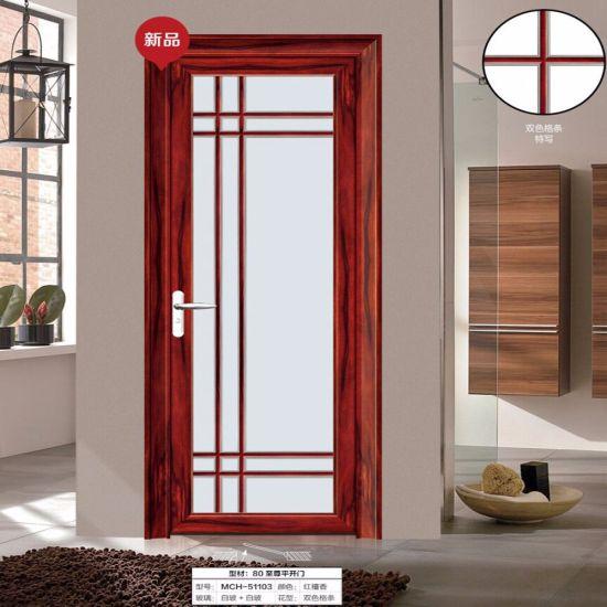 China Latest Design Interior Dressing Room Swinging Doors For Small