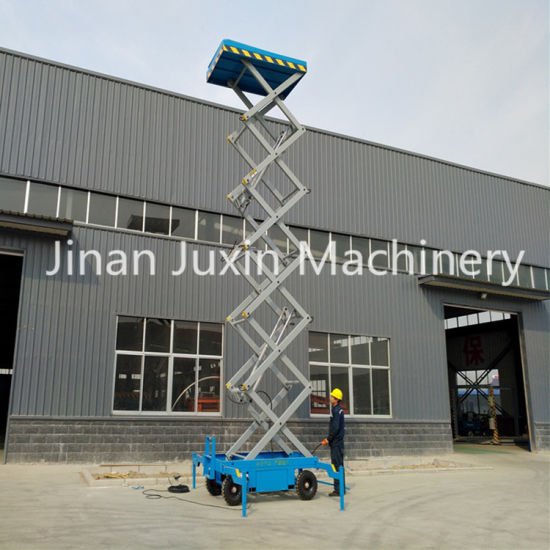 Mobile Electric Scissor Lift Manual with Cheap Price