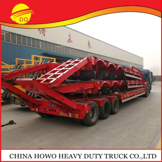 China Best Brand Low Bed Semi Trailr New Trucks Utility Bed Trucks for Sale