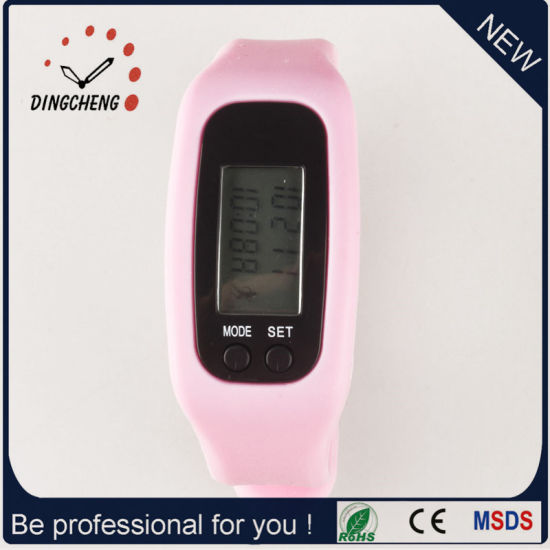 3D Pedometer Wristwatch Sport Watch Strap Watches (DC-001) pictures & photos