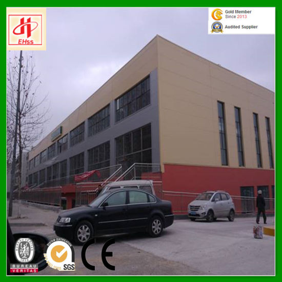 Prefabricated Construction Fabrication Warehouse Building