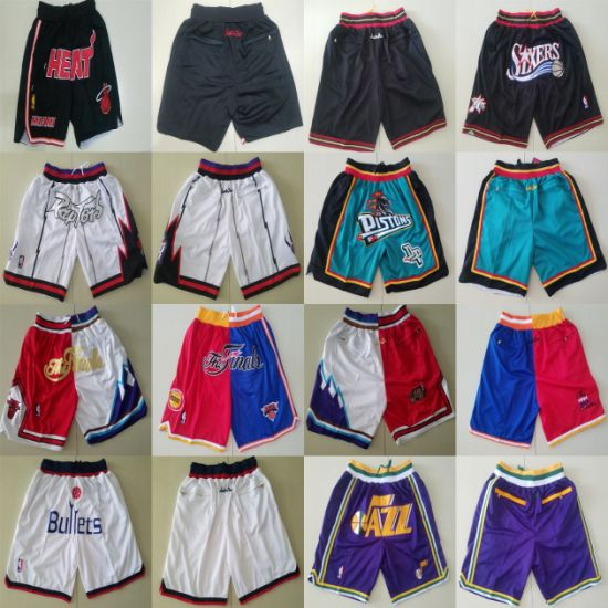 Wholesale Just Don N-B-a Heats 76ers The Finals Basketball Shorts