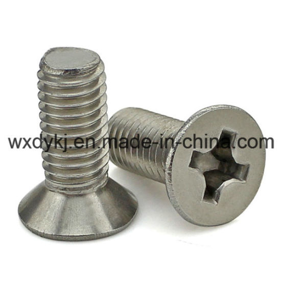 Stainless Steel A2-70 Cross Recessed Countersunk Head Furniture Screw