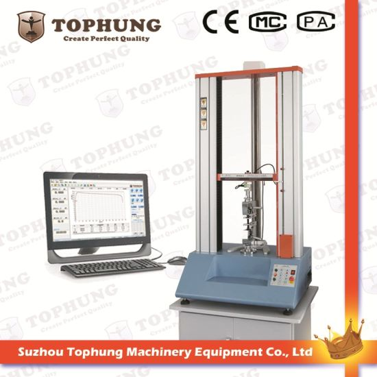 Rubber & Plastic Tensile Strength Testing Machine with Ce (TH-8201S)