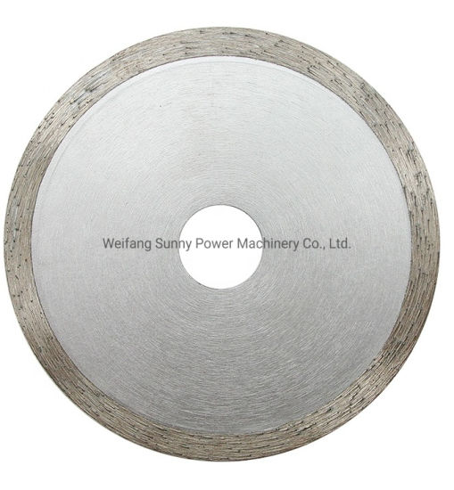 Sintered Continuous Rim Diamond Saw Blade for Wet Cutting