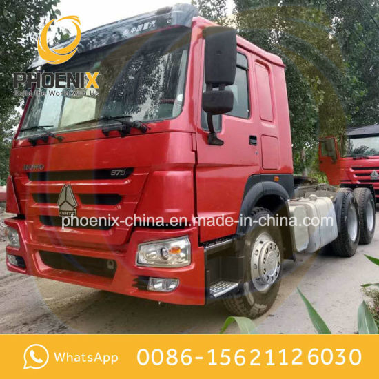Hot Sale 6X4 Used Sinotruck HOWO Tractor Head Truck with Excellent Condition Competitive Price for Africa Market