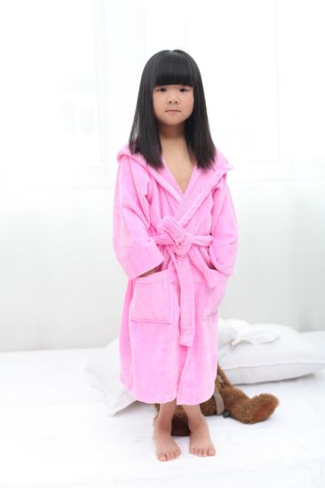 Supply Baby Child 100% Cotton Bathrobe pictures & photos