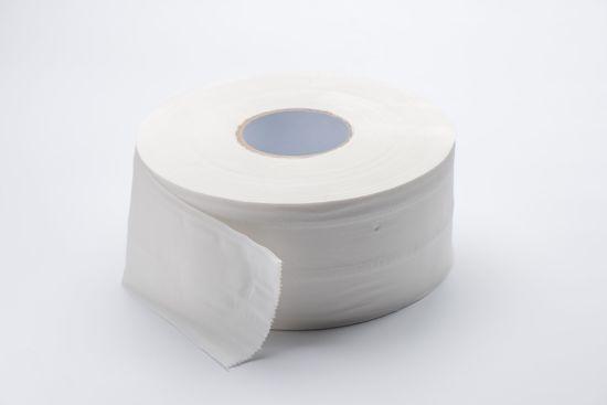 High Capacity White Jumbo Roll Toilet Paper