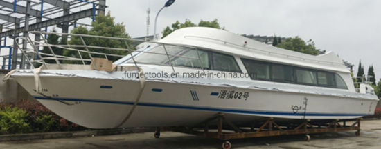 58 Passenger Fiberglass Ferry Luxury Boat Passenger Boat Yacht
