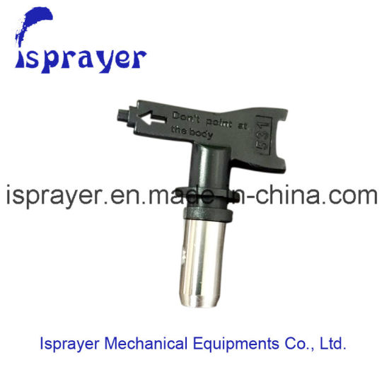 China Airless Spray Paint Nozzle For