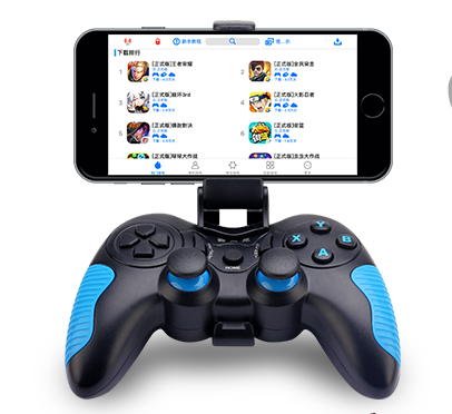 China Android/Ios Compatible Joystick Type Gamepad with Removable