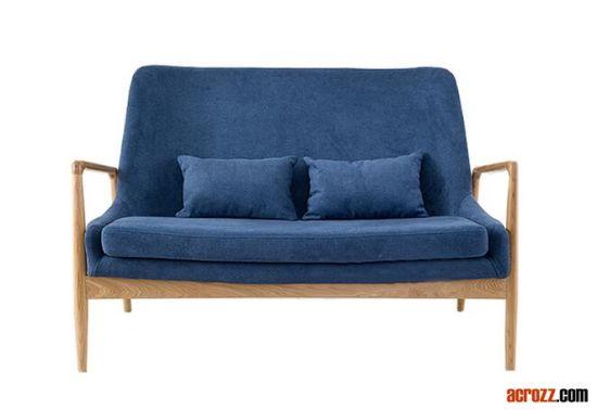 Luxury Clic Solid Wood Jensen Sofa