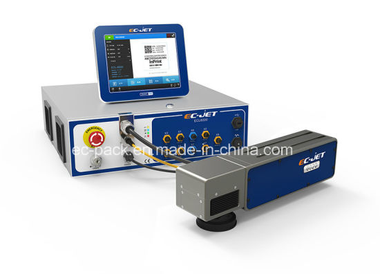 Non-Ink Dynamic Coding Machine Fiber Laser Printer (EC-laser) pictures & photos