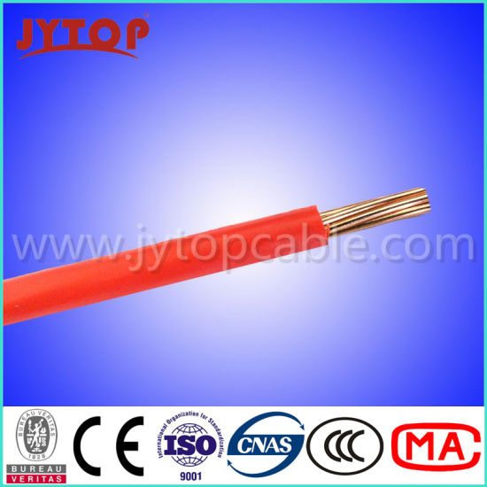 Factory Bottom Price Fo Copper Conductor PVC Insulated Thw Wire pictures & photos