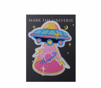 Production of Japanese Style UFO Embroidery Patches for Toy Clothing