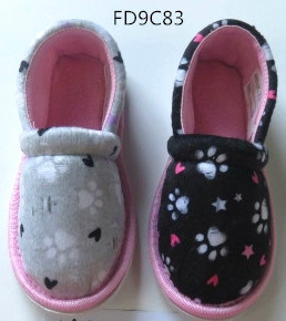 Child Indoor Slippers with Textile Upper / Insole and TPR Sole pictures & photos