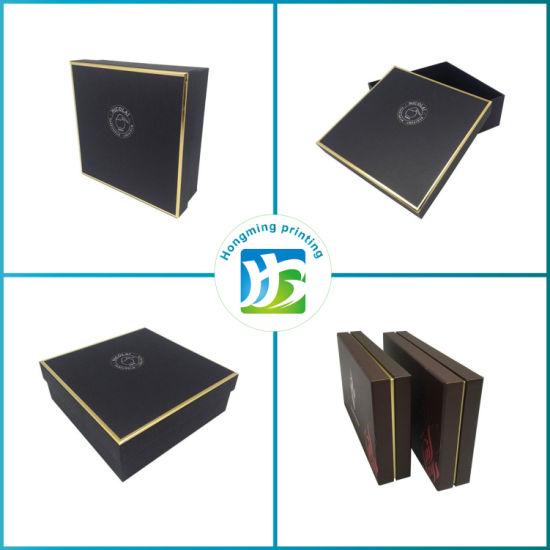 Luxury Rigid Cardboard Gold Logo Perfumes Box