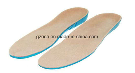 PU Material Orthotic Diabetic Foot Men and Women Shoes Insoles pictures & photos
